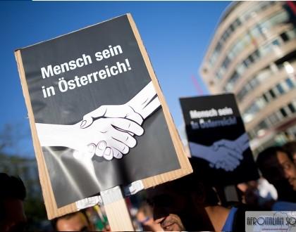 Vienna in marcia  ''Mensch sein in Österreich''